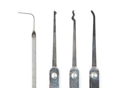 Werkzeuge für Schlossöffnungen